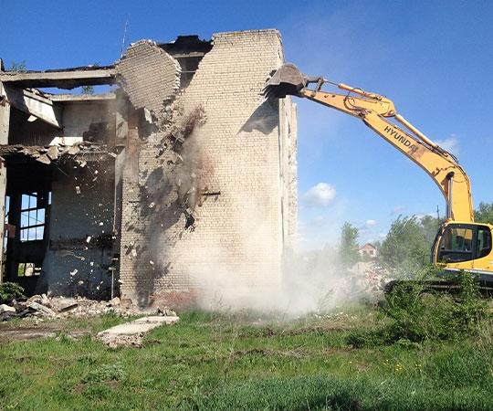 Демонтаж зданий в Саратове и Саратовской области
