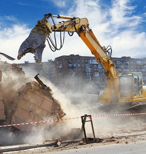 Услуги демонтажа в Саратове